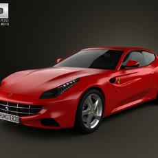 Ferrari FF 2011 3D Model