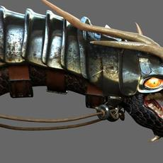 Battle dragon 3D Model