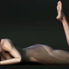 Kaori 3D Model