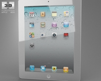 Apple iPad 2 WiFi 3G 3D Model