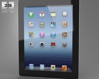 Apple The new iPad WiFi (iPad 3) 3D Model