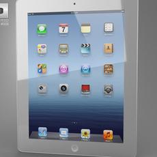 Apple The new iPad WiFi 4G (iPad 3) 3D Model