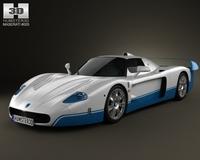 Maserati MC12 3D Model