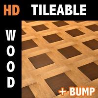 Wood tile 1