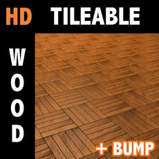 Wood tile 2