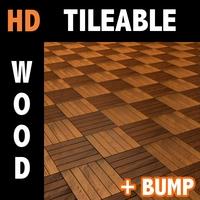 Wood tile 3