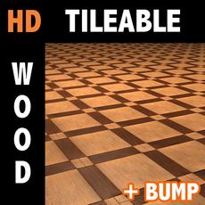 Wood tile 4