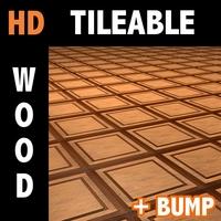 Wood tile 5