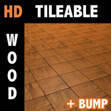 Wood tile 6