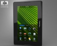 BlackBerry PlayBook 3D Model