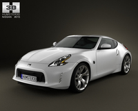 Nissan 370Z Coupe 2013 3D Model