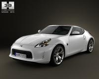 Nissan 370Z Coupe 2013 3D Model