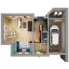 04 17 53 420 home interior floor plan free 3d model 4