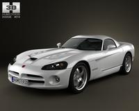 Dodge Viper SRT10 2010 3D Model