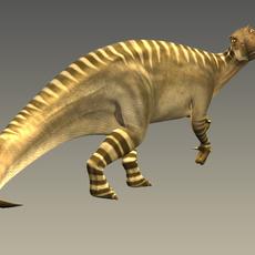 Iguanodon Rig 3D Model