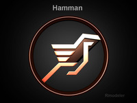 Hamman 3d Logo  3D Model