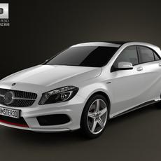 Mercedes-Benz A-class 2013 3D Model