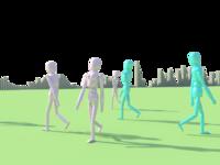 HumanFigurine Crowds Scripting 1.0.0 for Maya (maya script)