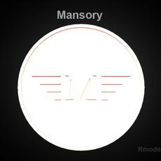 Mansory 3d Logo  3D Model