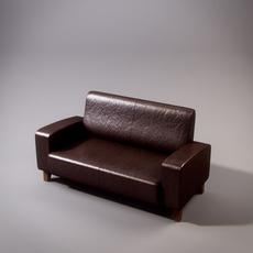 Custom sofa 01 3D Model
