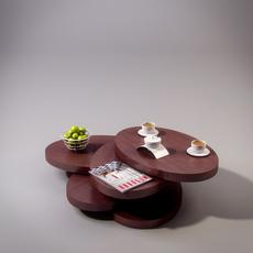 Table transformer 3D Model