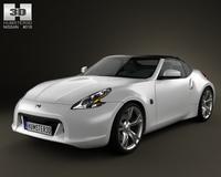 Nissan 370Z Roadster 2009 3D Model
