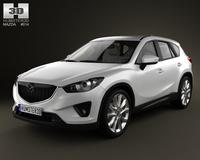 Mazda CX-5 2012 3D Model