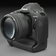 Canon Eos 1D-x DSLR Camera 3D Model