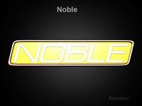 Noble 3d Logo   3D Model