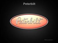 Peterbilt 3d Logo  3D Model