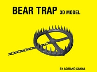 Free Bear Trap / hunter's trap 3D Model