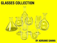 Free glasses collection - for Maya 3D Model