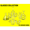 glasses collection - for Maya 3D Model
