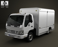 Isuzu NPR Beverage 2011 3D Model