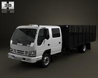 Isuzu NPR Dump Truck 2011 3D Model