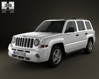Jeep Patriot 2011 3D Model