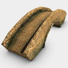Stone bridge 3D Model