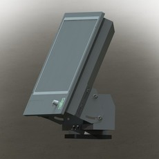 The display for military and industrial 3D Model