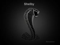 Mustang Shelby 3d Logo 3D Model
