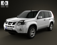 Nissan X-Trail 2011 3D Model