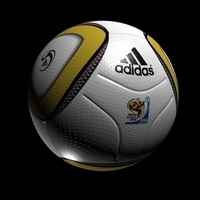 SoccerBall Africa 2010 3D Model