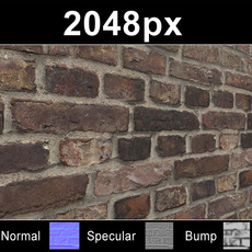 Brick 04 Old Wall - Set