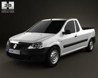 Renault Logan Pickup 2011 3D Model