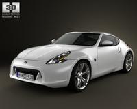Nissan 370Z Coupe 2009 3D Model