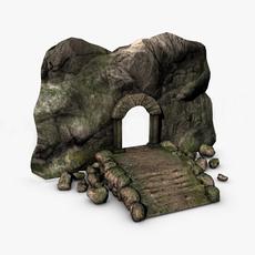 Ancient entrance 3D Model