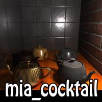 Presets for mia material 1.3.0 for Maya (maya script)