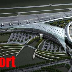 Airport 01 3D Model
