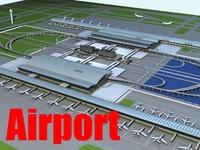 Airport 02 3D Model
