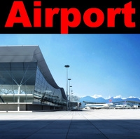 Airport 09 3D Model