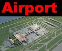 Airport 14 3D Model